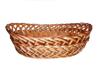 Set of wicker plates 3 pieces