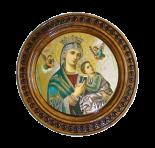 Dziewica i Jezus 19 cm