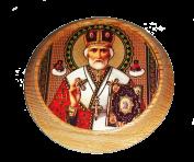 Деревянная икона 12 см.