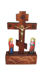 Icon of a wooden crucifix Jesus