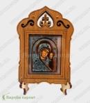 Ikona na stojaku Matki Bożej