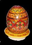 Яйце на тарілці 12 см