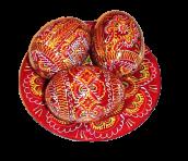 Wielkanocny talerz