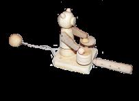 Drewniany zabawkowy miś