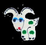 Magnes z pamiątkami Koza