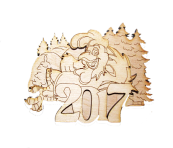 New Year 2017 Magnet