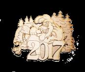 Новорічний магніт 2017