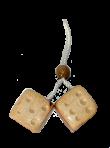 """Підвіска """"кубики"""" (3 х 3 см)"""