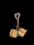 """Подвеска """"кубики"""" (2,5х2,5 см)"""