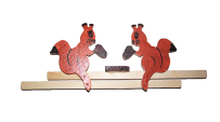 Mechanical toy Squirrels