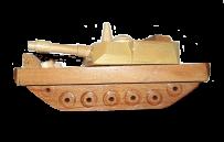 Деревянный танк