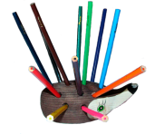Ёжик с карандашами