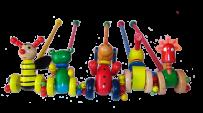 Іграшки на коліщатках
