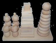 Набір пірамідок