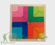 Танграм пазлы квадрат