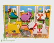 Puzzle zwierząt