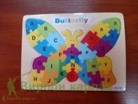 Бабочка пазл