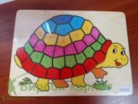 Układanka żółwia