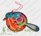 Лабиринт птичка магнит