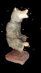 Drewniana statua Niedźwiedź