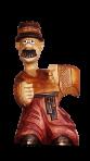 Posąg Chumak z butelką 0,7 L