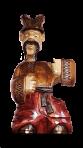 Drewniana statua Kozak 0,7 L