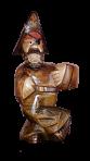 Drewniana statua Pirat 0,7 L