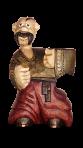 Drewniana statua kozacka grzywka 0,5 L