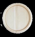 Тарілка з округлим буртиком 25 см