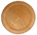 Тарілка з облямівкою 7 см