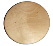 Wooden plate 18 cm