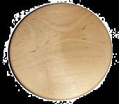 Drewniana talerz 18 cm