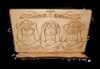 "Сувенир ""три обезьяны"""