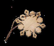 Игрушка Снежинка 3