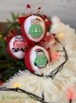 Zestaw zabawek świątecznych