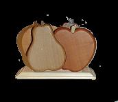 """Салфетница """"груша-яблоко"""""""