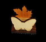 Листок і метелик