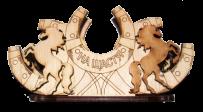 Podkowy serwetnik