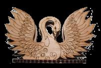 Napkin holders swan