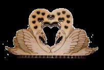Салфетница Лебединая пара