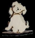 Салфетница собака