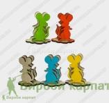 Napkin mouse