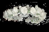 Обруч з трояндочками
