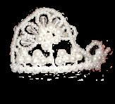 Корона с бусинок