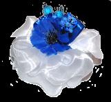 Бант з квіткою
