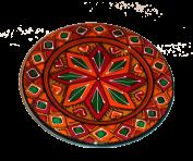 Расписная тарелка  14 см