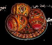 Пасхальная тарелочка (маленькая)