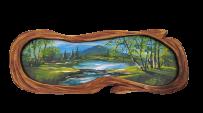 Картина в дерев'яному обрамленні