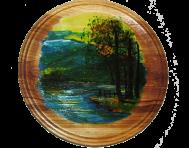 Malowana płyta 22 cm