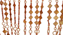 Декоративні штори-ромбики